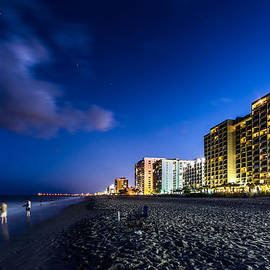 Randy Scherkenbach - Myrtle Beach at Night