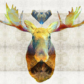 Sharon Cummings - Mystic Moose Art by Sharon Cummings
