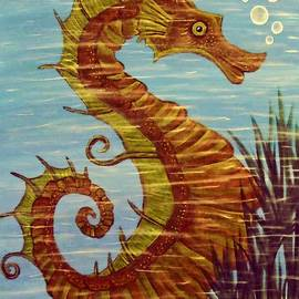 Tisha McGee - Mystical Horse of the Sea the Seahorse