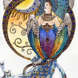 Elena Yakubovich - Mythological Bird-Woman Gamayun - Elena Yakubovich