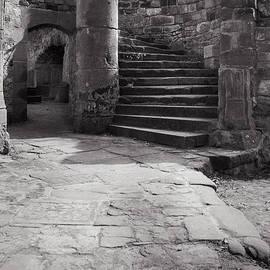 J Riley Stewart - Nantein Castle Circular Stairway