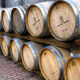 Donna Doherty - Nantucket Vineyard Wine Barrels