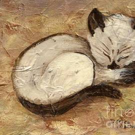 Darice Machel McGuire - Napping Kitty
