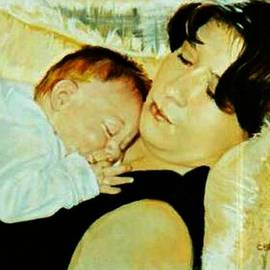 Cyndi Brewer - Napping on Mama