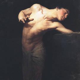 Gyula Benczur - Narcissus