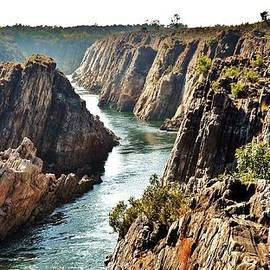 Kim Bemis - Narmada River Gorge at Jabalpur India
