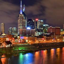 Frozen in Time Fine Art Photography - Nashville Night