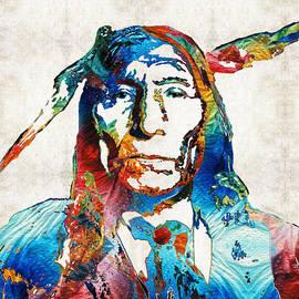 Sharon Cummings - Native American Art by Sharon Cummings