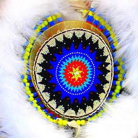 Photographic Art and Design by Dora Sofia Caputo - Native American White Fur Headdress