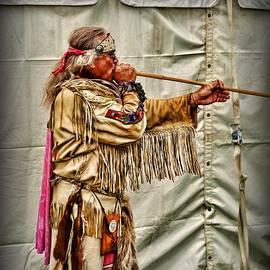 Paul Ward - Native American with Blowgun