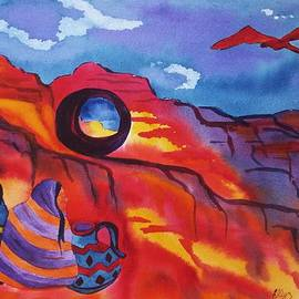 Ellen Levinson - Native Women at Window Rock