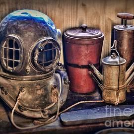Paul Ward - Nautical - Antique Dive Helmet