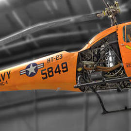 John Straton - Navy Bell 47k Helicopter Sioux