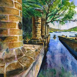 John D Benson - Nelson Dockyard in Antigua