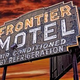 Henry Kowalski - Neon Sign Frontier Motel