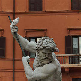 Georgia Mizuleva - Neptune and the Dove - Fountain of Neptune Piazza Navona Rome Italy