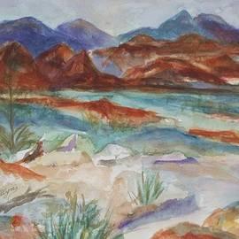 Ellen Levinson - Nevada Red Rocks
