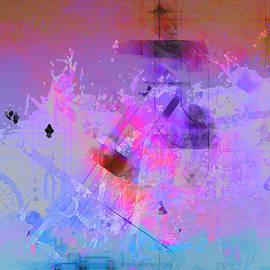 Douglas MooreZart - New Dawn in Blue and Purple