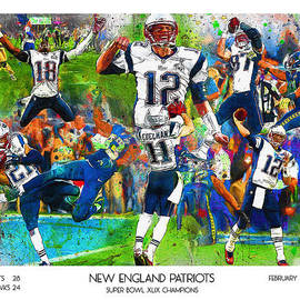 John Farr - New England Patriots Champions 2015