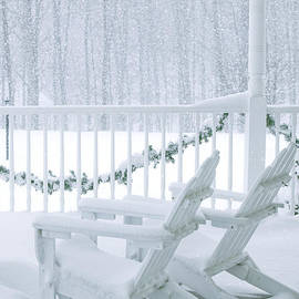 Diane Diederich - New England Winter Porch
