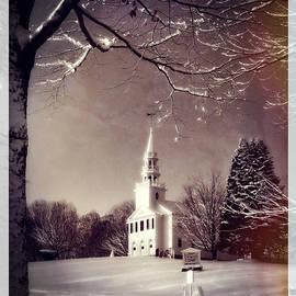 Thomas Schoeller - New England Winter Village Scene
