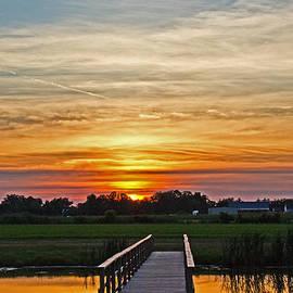 Tom Gari Gallery-Three-Photography - New Jersey Summer Sunset