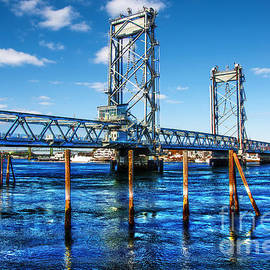 Deena Athans - New Memorial Bridge - Portsmouth NH Side
