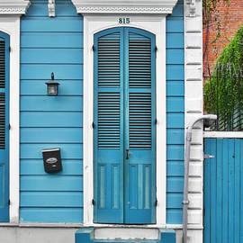 Christine Till - New Orleans Front Door