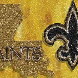 Jack Zulli - New Orleans Saints Mosaic
