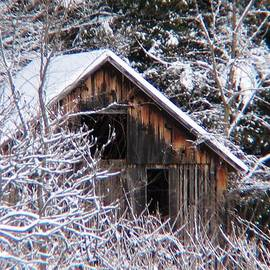 Will Boutin Photos - New Snow Old Barn