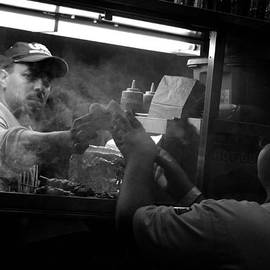 Steve Archbold - New York City Hot Dog Vendor