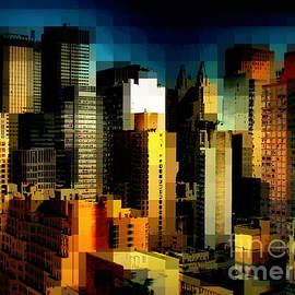 Miriam Danar - New York Skyline 4 - City Blocks Building Blocks Series