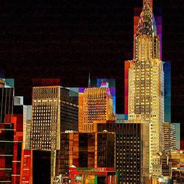 Miriam Danar - New York City Skyline at Night