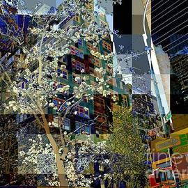 Miriam Danar - New York City Street Scene - The Flowering Tree