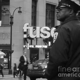 Miriam Danar - New York City Street Scene - Traffic Cop