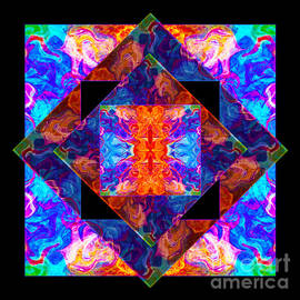 Omaste Witkowski - Newly Formed Bliss Mandala Artwork