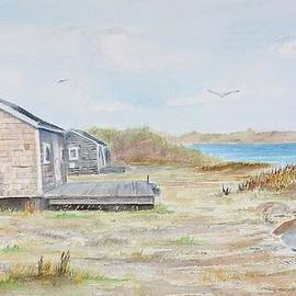 Michael McGrath - Newport fishing shacks