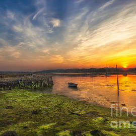 English Landscapes - Newtown Quay Sunset