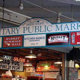 Richard Rosenshein - Next To Pikes Place Public Markets In Seattle Washington