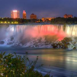 Wayne Moran - Niagara Falls Canada Sunset