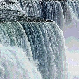 Rose Santuci-Sofranko - Niagara Falls Closeup Topography Effect