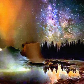Bob and Nadine Johnston - Night in Yellowstone National Park