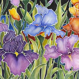 Connie Ely McClure - Night Irises