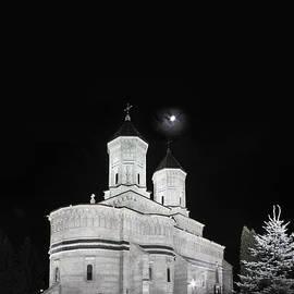 Vlad Baciu - Night photo of Orthodox Church Three Holy Hierarchs in Iasi - Romania