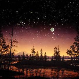 Douglas Castleman - Night Sky in Tuolumme Meadows
