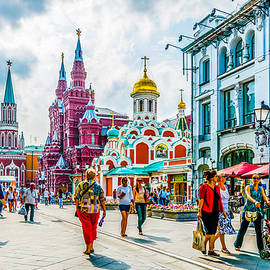 Alexander Senin - Nikolskaya Street Of Moscow