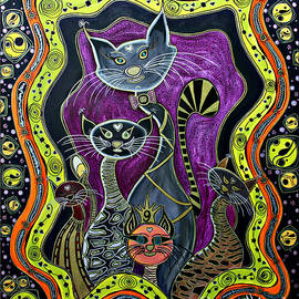 Jolanta Anna Karolska - Nine Lives     original sold