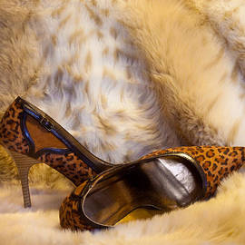 Patti Deters - Leopard and Fur High Heels