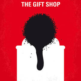 Chungkong Art - No130 My Exit Through the Gift Shop minimal movie poster