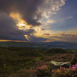 Chris Smith - Norland moor sunset